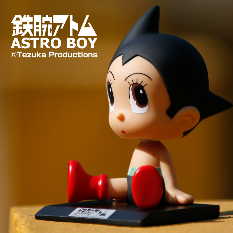 Hot brinquedos Japan anime action figure Astro Boy & uran kids toys cute Cartoon Jushi Decorations Car Bobblehead doll ornaments(China (Mainland))