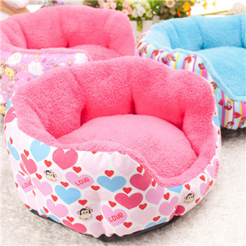 Free Shipping 2015 Hot Sales Pet Dog Bed and House Soft Breathable Material Cat Kennel Warn Winter for Cat Dog Pet Products(China (Mainland))