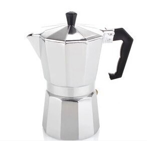Inoxpran's supplier! 3/6/9/12cups Alumnium Moka pot Espresso Coffee Maker(China (Mainland))