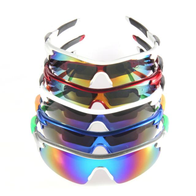 Профессиональный Спорт UV400 Защитные Солнцезащитные Очки Очки Goggle Солнцезащитные ...