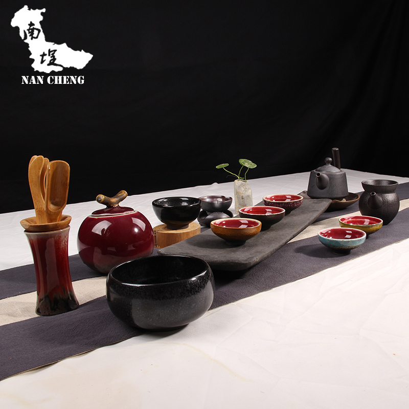 Southern black stone courtyard package dry foam simple teapot tea tea sets tea sets for a legendary modern accessories(China (Mainland))