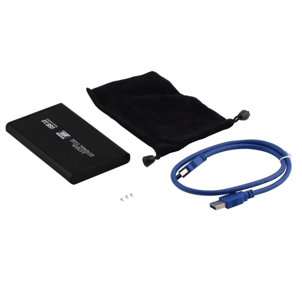 """New 2.5"""" USB hd Box 3.0 HDD Case Hard Drive SATA External Enclosure hard disk case(China (Mainland))"""