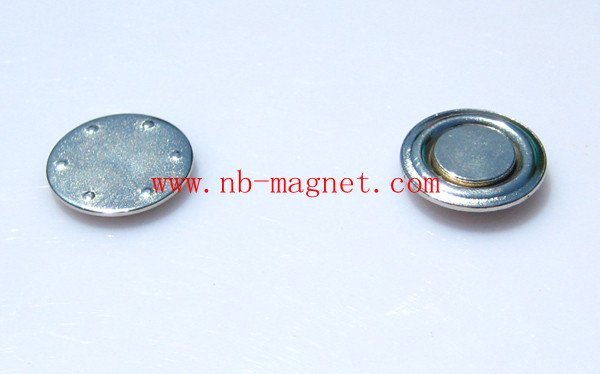 magnetic name badge, magnetic round  badge, fastener , tag ,backing, button, holders