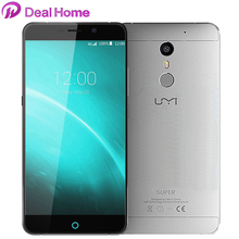 "In Stock UMI Super Mobile Phone 4G LTE 5.5"" FHD MTK6755 Octa Core 4G RAM 32G ROM Android 6.0 Metal 4000Mah PE 13.0MP(China (Mainland))"