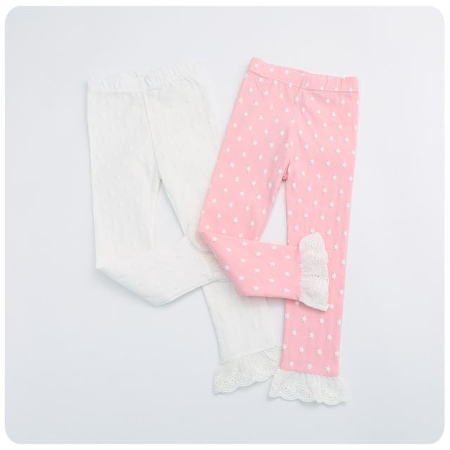 2016 детская одежда детские брюки кружева брюки леггинсы плотно все-матч девочка длинные брюки