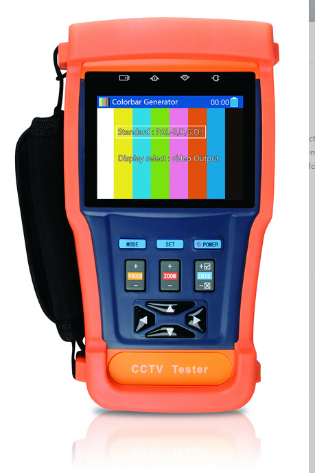 Optical power meter Video screen shot Video recording 8G memory CCTV tester PTZ Security Camera Tester(China (Mainland))