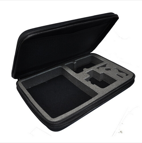 Collection Box Gopro Case Large For Gopro Hero 4/3+ Hero3 Hero2 Gopro Bags Camera Accessories POV 4.0 Blac (32.5x 21.7 x 6.5 cm)(China (Mainland))