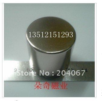 N35 NdFeB Powerfull magnets , permanent magnet strong magnetic magnets d30mm x 30mm 2pcs/lot