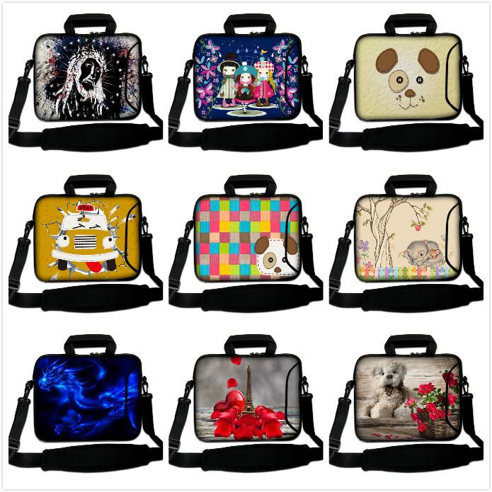 "12"" 13"" 14"" 15"" 17"" 17.3"" 17.4"" Black Notebook Laptop Sleeve Handle Bag Carrying Case for HP Shoulder Bag(China (Mainland))"