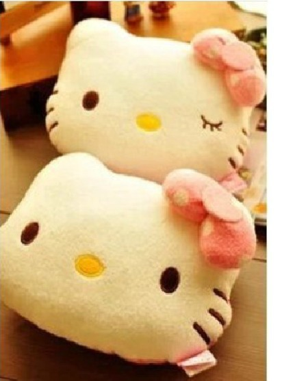 NEW Sanrio 2014 Hello Kitty Auto Car Seat Pillow Cover Head Neck Rest Headrest Cushion Pink Girl Gifts Special Price - Workshop store