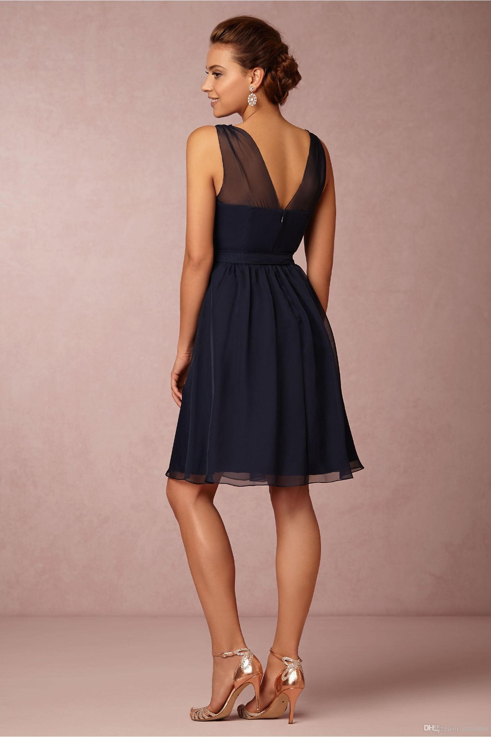 Navy Blue Short Bridesmaid Dresses Uk Down To Earth Bali