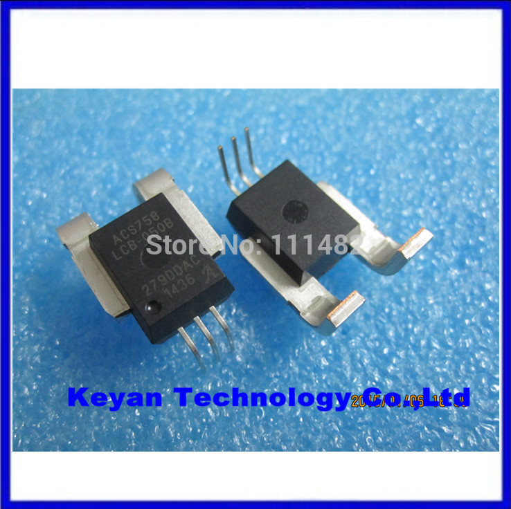 5 pcs Free Shipping = ACS758LCB-050B-PFF 3-leadCB Hall Effect-Based Linear Current Sensor IC with Allegro(China (Mainland))