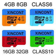 4GB 8GB class6 16gb 32gb Class10 micro sd card  Memory cards carte card realy capacity for mobile phone free shipping