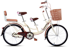 tb368/Permanent bicycle / 22 inch / two-person city car parental child / parent child adult children common to use car(China (Mainland))