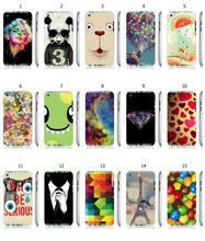 Mobile Phone Case Hot 1pc Monroe Skull Panda Hybrid Design Protective White Hard Case For ipod touch 4 4th Free Shipping