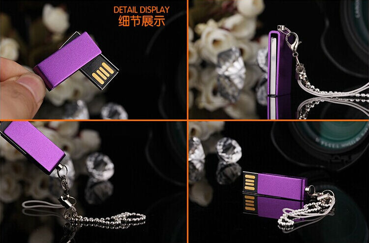 Colorful Swivel 64gb usb2.0 pen drive 32gb u disk pendriver flash memory usb stick 100% real capacity 16gb 8gb 4gb S237