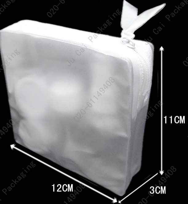Clear pvc zipper plastic bag and transparent package bag(China (Mainland))