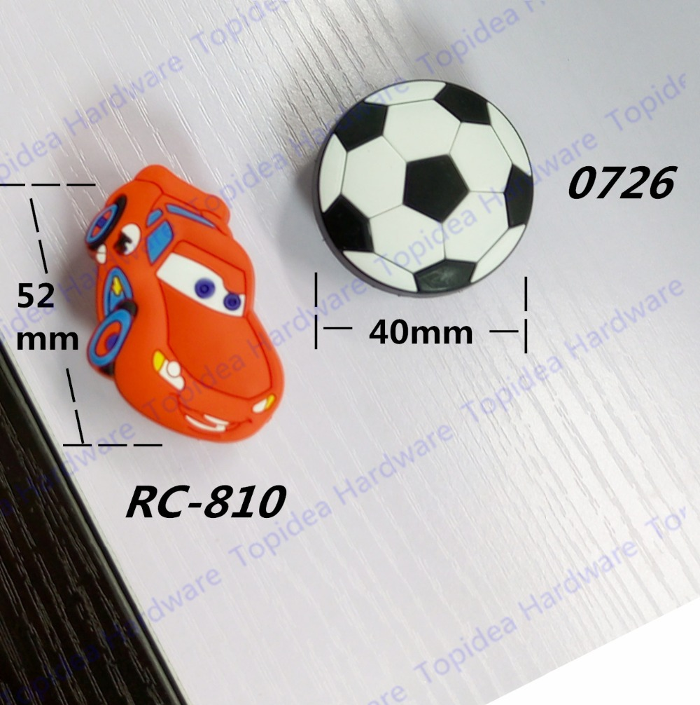 Red car black football style cabinet door knobs children for Affordable furniture redcar