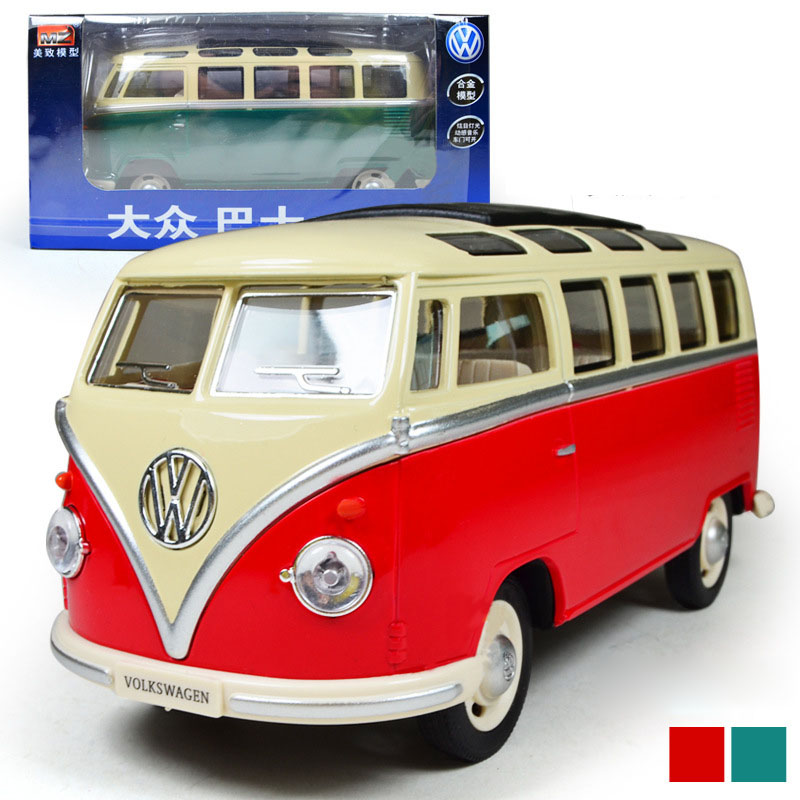 1:32 Scale Bus Alloy Models Metal Vintage Classic Car Toys DIT CAST High Quality Alloy Kids Toys(China (Mainland))