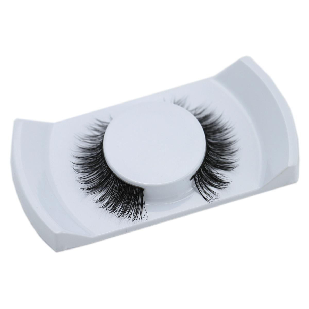 Original Operacosmetics 1 Pair 100% Real Mink Natural Thick False Fake Eyelashes 007 Eye Lashes Makeup Extension Beauty Tools(China (Mainland))