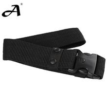 Tactical Accessories Military Field Belt Equipment Strengthening Black Canvas Waistband military - shop925411 store
