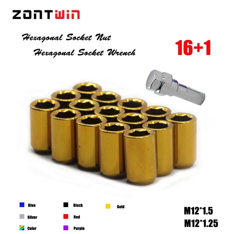 M12 X 1.25 42mm Extendida Hilo cónico Asiento Rueda de la aleación Pernos Set De 4