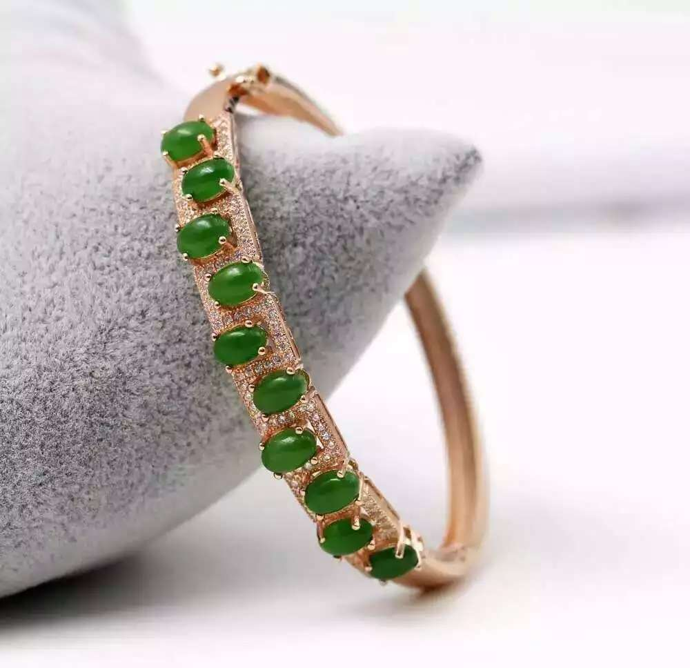 Classic fashion natural jade  bracelets 925 sterling silver natural  gem stone bracelet  for women party fine jewelry<br><br>Aliexpress