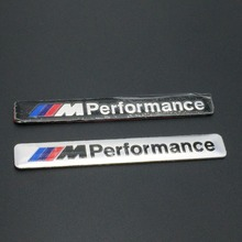 Car Styling 8.5 x 1.2 cm Motosport M Performance de porte de voiture Badge autocollant pour BMW autocollant m3 m5 X1 X3 X5 X6 E36 E39 E46 E30 E60 parking