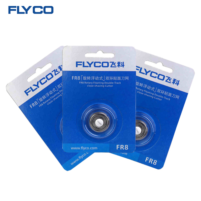 FLYCO Электробритвы Оригинал Улучшенный Замена Blade Razor Blade Руководитель для Мужчин 3 FR8
