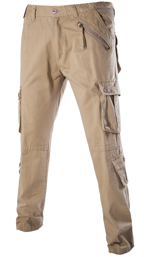 Cargo Pants With Lots of Pockets Multi-pocket Cargo Pants