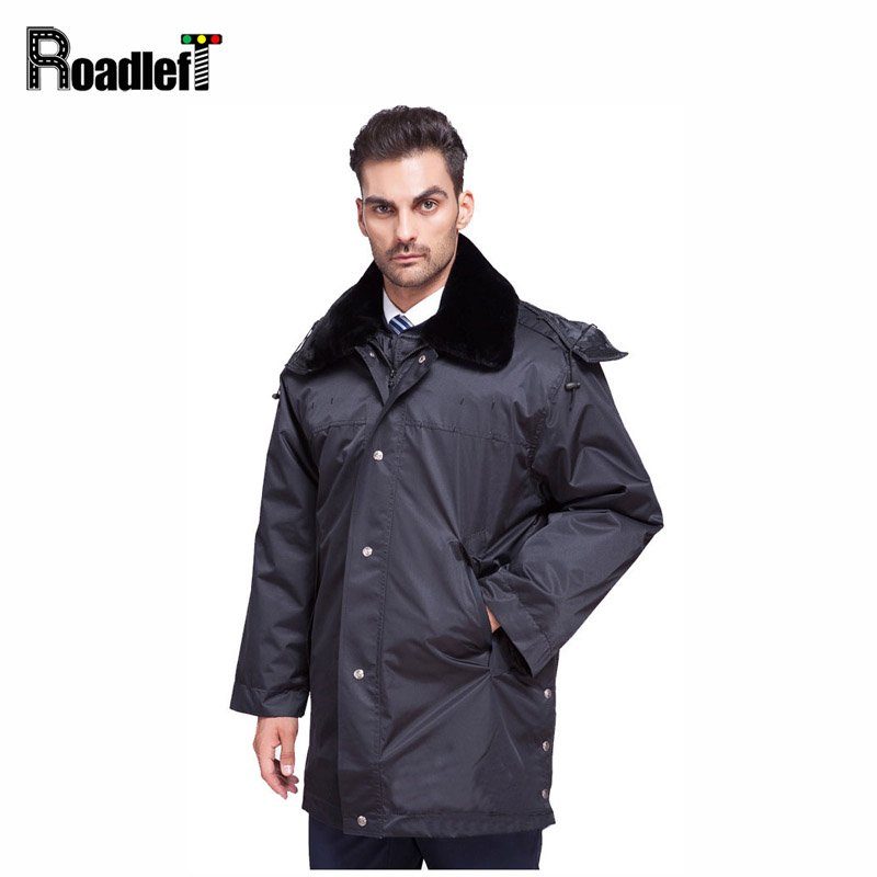 Mens Winter Plus Long Swat FBI Clothing Trench Coat