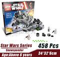 LEPIN 05002 Star Wars Space Wars Snowspeeder Minifigures Building Block Minifigure Toys Kid Compatible Legoe