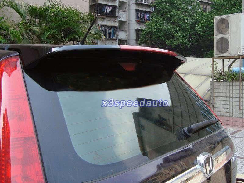 ABS New Style Unpainted LED Brake Light Spoiler Honda CRV CR-V 2007-2011 - X3speedauto store