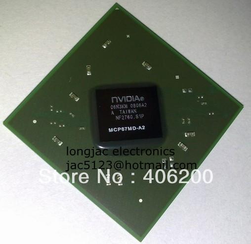 1PC warranty 100% good quality nVIDIA MCP67MD-A2 bga chips , free shipping