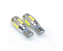 2pcs Super Quality 10 LED SMD 5730 Error Free 194 168 W5W CAR LED T10 LED CANBUS T10 LED CANBUS Car Side Light(China (Mainland))