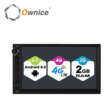 Ownice C500 Android 6.0 1024*600 4core Radio 2 DIN 2GB RAM 16GB ROM universal GPS radio wifi Support 4G LTE Network DAB+ no dvd(China (Mainland))