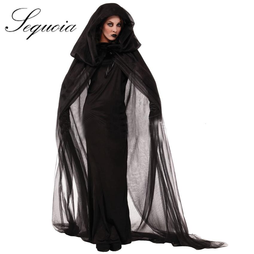 Taille plus hot vente nouveau pas cher capuche femmes halloween costumes mo - Cite de vente pas cher ...