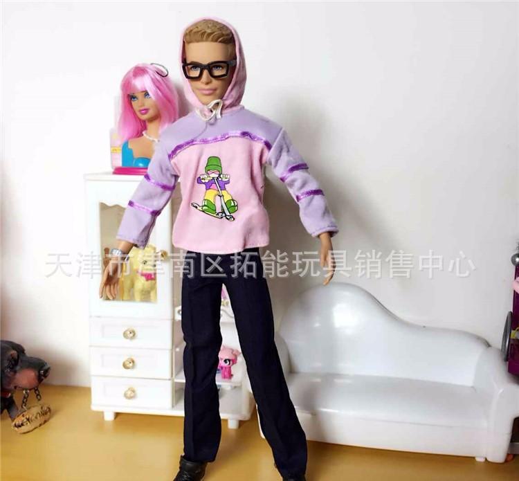 Free Transport! New Arrival 6sets Garments Set for Barbie Ken, Informal Garments For Boyfriend Barbie
