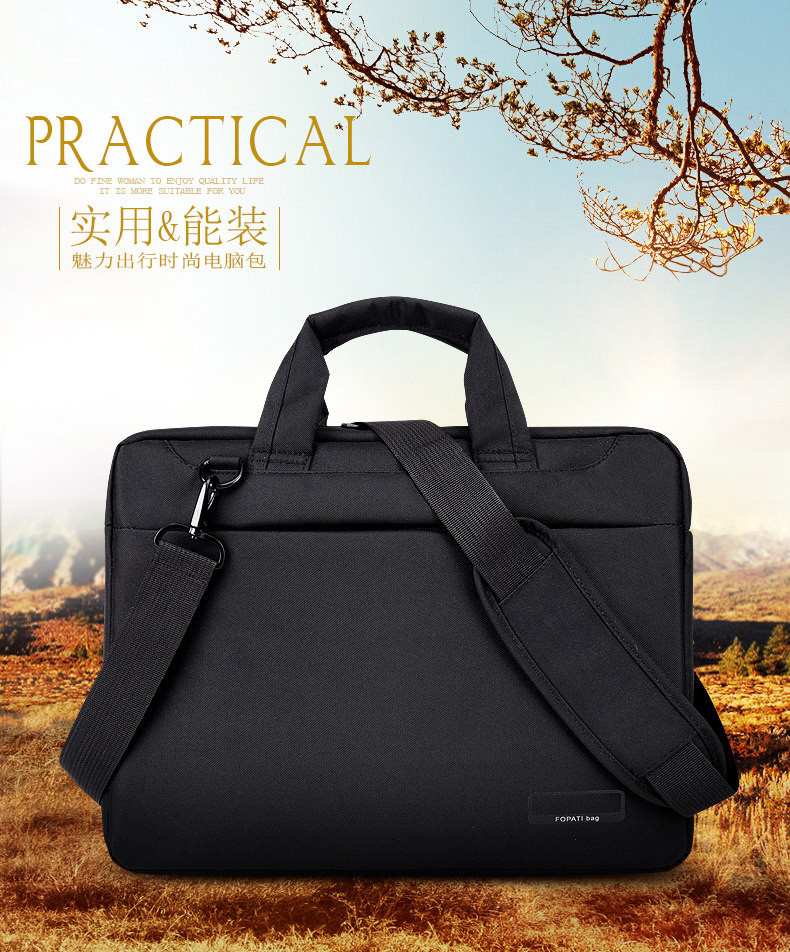 Laptop bag 17.3 17 15.6 14 12 inch Nylon airbag shoulder handbag computer bags Waterproof Messenger Women men  Notebook bag 2017