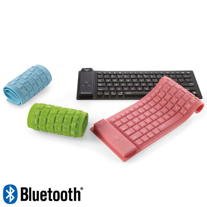 Bluetooth silicone flexible keyboard , Bluetooth foldable keyboard ,Waterproof BT keyboard for iPad / Android / Windows(China (Mainland))