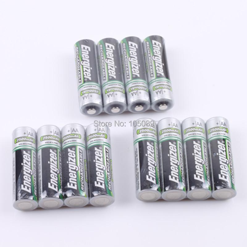 12PCS New Original AA Ni-MH Rechargeable Battery 2500mah For Energizer Free Shipping(China (Mainland))