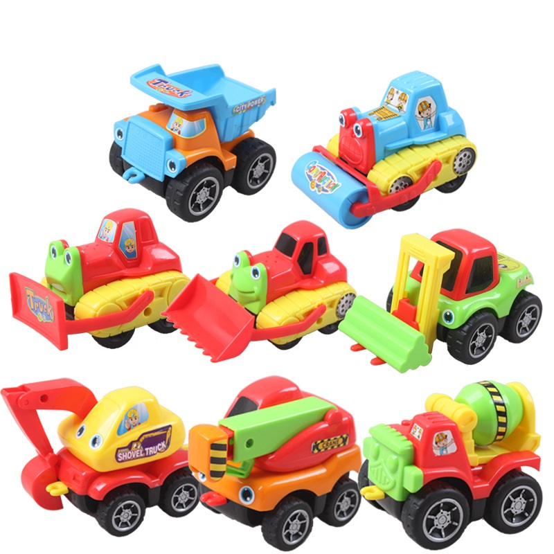8pcs/lot NEW Hot Sale Cartoon toys Cars Multi color Figures Full Set Mini Model Toys Classic Toys Kids Christmas Gift(China (Mainland))