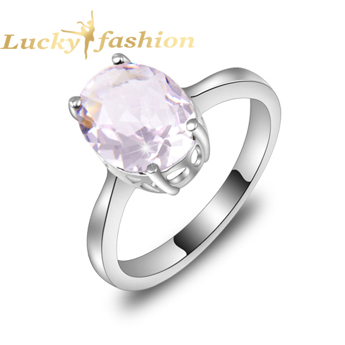 Aliexpress Buy Hot Sale Wedding Jewelry Classic Pink Crystal Rings For