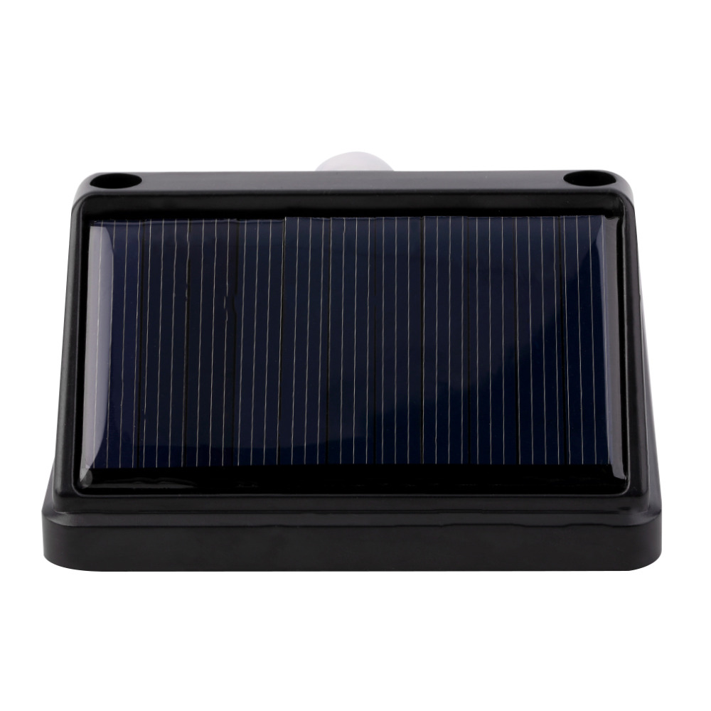 solar power pir motion light sensor wall light outdoor garden