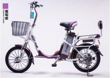 pk17/Permanent electric car / 16 inch / 48V / 10AH / 250w / day performance lithium battery lithium / electric bicycle(China (Mainland))