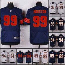 HOT Elite men Chicago Bears 99 Lamarr Houston 94 Leonard Floyd 89 Mike Ditka 75 Kyle Long 54 Brian Urlacher D-4(China (Mainland))