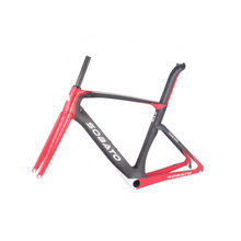Bicycle frames Aero carbon road tt bike frame carbon fiber road bike frame+fork+seatpost Carbon bicycle parts