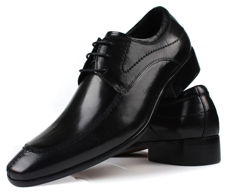 Large size US5.5~12.5 mens office shoes black dress shoes for man flats genuine leather pointed toe business formal shoes<br><br>Aliexpress