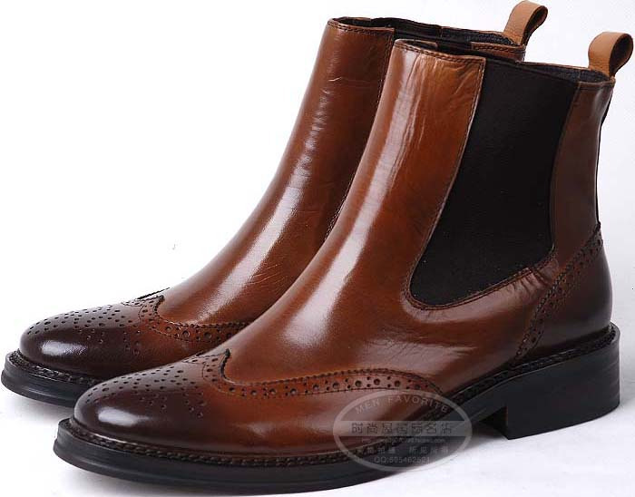 new classic slangwell aristocratic luxury boots shoes mens