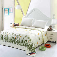 Wholesale of 100% microfiber blankets single 150x200cm super soft printing family throws summer quilts(China (Mainland))